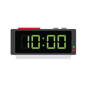 Digit LCD Clock